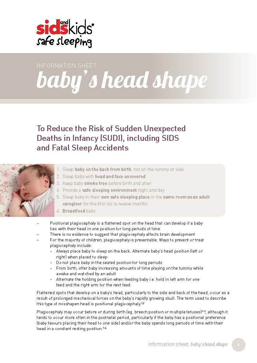 Baby's Head Shape Information Statement